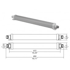 COVER IP67 linear box (180066/390)
